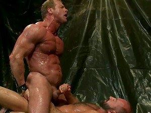 Derek Agony and Josh West get nasty in amazing Domination & submission fag scene