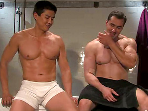 Restrain bondage and Dominance Homo Porno Vid with Kinky Dick Games