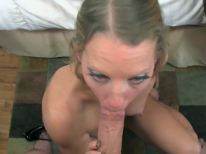 Alyssa Dutch bj's a big dick and doesn't want to stop