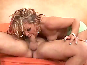 Whorey Kelly Leigh gets fucked rough on a sofa