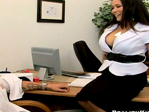 Superb Jessica Bangkok gets fucked deep in an office