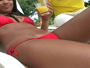 Gonzo story with a divine Brazilian angel Shara